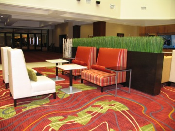 marriott minneapolis northwest lounge area