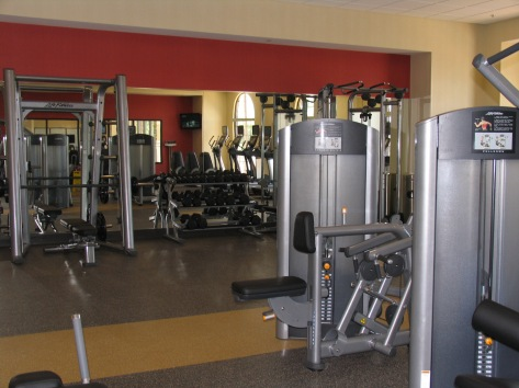 marriott twin cities hotel fitness center